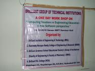 Workshop for Academicians at Brilliant Group of Institutions