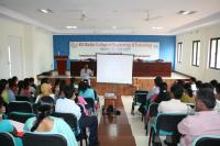 Workshop for Academicians at KG Reddy College of Engineering & Technology
